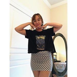 Checkerboard Babe Mini Skirt 🍒